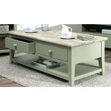 green coffee table coffee table with 2 drawers and shelf sage green green coffee tablets in egypt
