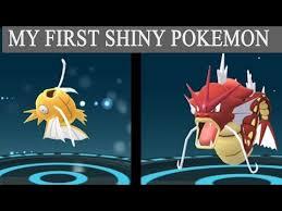 Pokemon Go Shiny Magikarp Evolves Into Red Gyarados In
