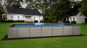 above ground rectangular swimming pools. Interesting Pools HERCULES ABOVEGROUND POOL Intended Above Ground Rectangular Swimming Pools N