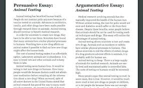 Example Of Argument Essays Argumentative Essay Example For High School Examples Of Compare