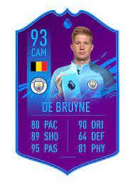 FIFA 21 POTM DE BRUYNE (I didn't make the card design) : fifacardcreators