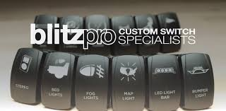 Blitzpro Led Lights Blitzpro Custom Rocker Switches Jeep Accessories Jeep
