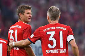 Time is right for Thomas Muller to leave Bayern Munich says Schweinsteiger