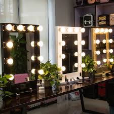 lighting hollywood vanity mirror with lights for canada led diy light makeup wall mounted lighted