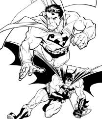 It's a bird, it's a plane… no, it's superman! Superman And Batman Coloring Pages 997 Batman And Superman Coloring Pages Coloringtone Book