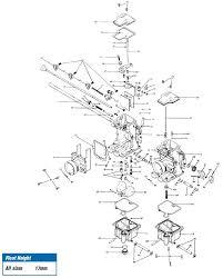 mikuni rs smoothbore carb exploded view chinese atv carburetor leaking gas at 110cc Atv Carburetor Diagram
