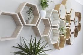 hexagon shelves wall hexagon shelf set