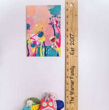 Personalised Height Chart The Old School Personalised Ruler Height Chart