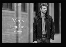 men s leather now