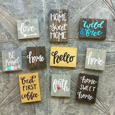 Wooden Signs With Quotes Beauteous Wood Signs For Home Wall Decor Signs For Home Primitive Wall Decor