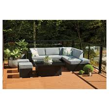 style selections soho patio sectional