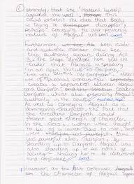 ms weddle s class of blog  hope s clear and well argued essay