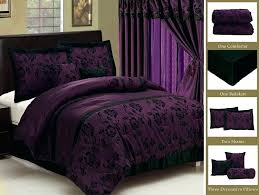 Bedroom Curtain Sets Pink And Black Bedding
