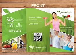 ample foods flyer elegant upmarket business flyer design for a company by sun_design