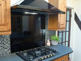 details about black glass splashback toughened made to measure free adhesive