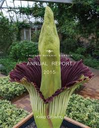 annual report by chicago botanic garden issuu annual report 2015