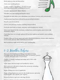 bridal checklist complete wedding planning guide and checklist visual ly