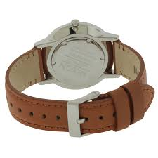nixon the porter leather uni watch a10582694 ships to canada 19457021