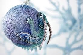 Dragon Christmas Ball by hontor on DeviantArt