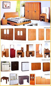 Names Of Bedroom Furniture Pieces Bed Pieces Names Types Of Tables