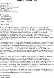 Lpn Cover Letter For Resume
