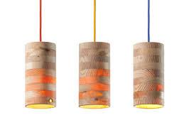 Lamp Design Throws Warm Light That Passes Through Wood