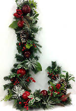 Silk Christmas Garland