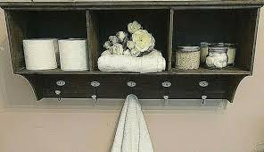 coat hat rack hooks drawers storage
