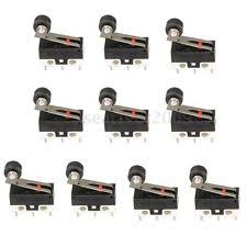 mini micro switch 10 pcs mini micro switch 13mm roller lever types spdt sub miniature microswitch