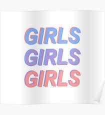 Girls The 1975 Lyrics The 1975 Lyrics Posters Redbubble