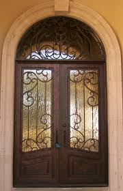 front doors austinEntry Iron Door with Transom  Traditional  Entry  Austin  by