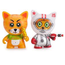 "<b>Kidrobot</b> TRICKY CATS 3"" VINYL ART FIGURE *YOU CHOOSE cat ..."