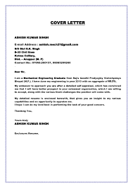 Awesome Collection Of Graduate Cover Letter Sample Engineer Cover