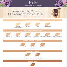 Tarte Amazonian Clay Color Chart Pin On Makeup