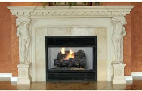 emberglow savannah oak 18 in vent natural gas fireplace logs with remote scvfr18n