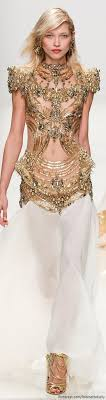 30 Best Gold Fashion Images On Pinterest Couture 2015 Girls And