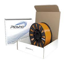 <b>Пластик ABS</b> для 3D печати Plastiq <b>оранжевый</b>, 1.75 мм, 300 м.