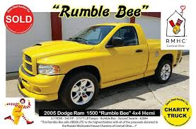 """Rumble Bee"""" Truck Auction"""