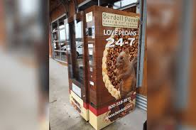 Pie Vending Machine Beauteous This Vending Machine In Texas Lets You Buy A Pecan Pie Anytime