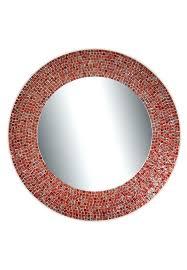 red wall mirrors traditional mosaic mirror wall mirror decorative wall mirror red red mirror wall clock