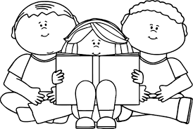 perspective kids reading books coloring pages book for children best kid