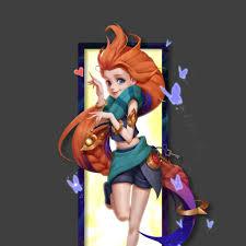 Wallpaper 4k League Of Legends Zoe ...