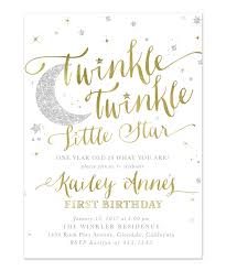 a birthday invitation birthday party invitations terrific twinkle twinkle little star