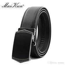 maikun luxury belts for men business leather belt designer tactical belt casual jeans male merbunds plus size belts myself belts from wanmni