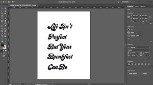 Use Type To Create Letter Based Art In Adobe Illustrator Create