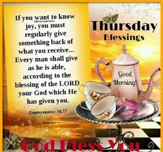 Thursday Blessings Silly Things Good Morning Quotes Thursday