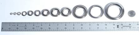 Rubber Grommet Size Chart Pdf Grommet And Eyelet Sizing Chart