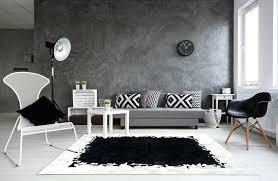 nimbus black and white cowhide rug canada