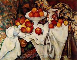 paul cézanne still life with apples and oranges oil painting reion