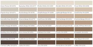 Sherwin Williams Color Chart Glass Paint Online Colors